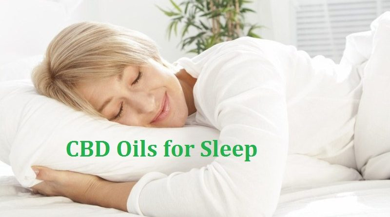CBD Oils for Sleep